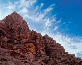 Jordan, Wadi Rum, clouds, day, journey travel, tour voyage, , morning, mountains, outdoor, photo landscape, photo nature, rocks, silhouette, sky, summer, tourism