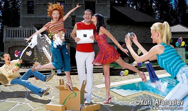 Реклама Ровербук. Рекламная фотография. Рекламный фотограф Юрий Афанасьев.