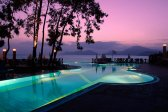 clouds, evening, landscape, nature, night, outdoor, pool, sky, summer, sunset, trees, Likiya World, Oludeniz,