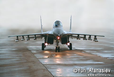 Russian military aircraft pictures. MiG-29 High-Performance Combat Aircraft, Russia.